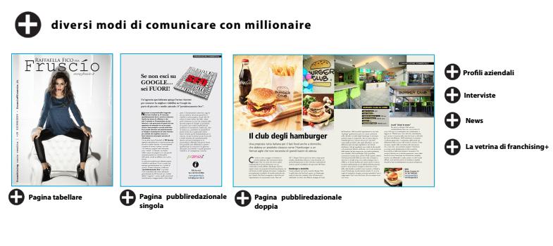 pubblicità su millionaire