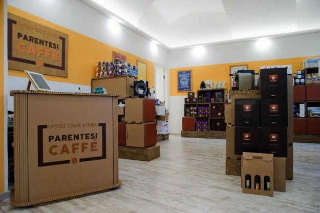 parentesi caffe franchising