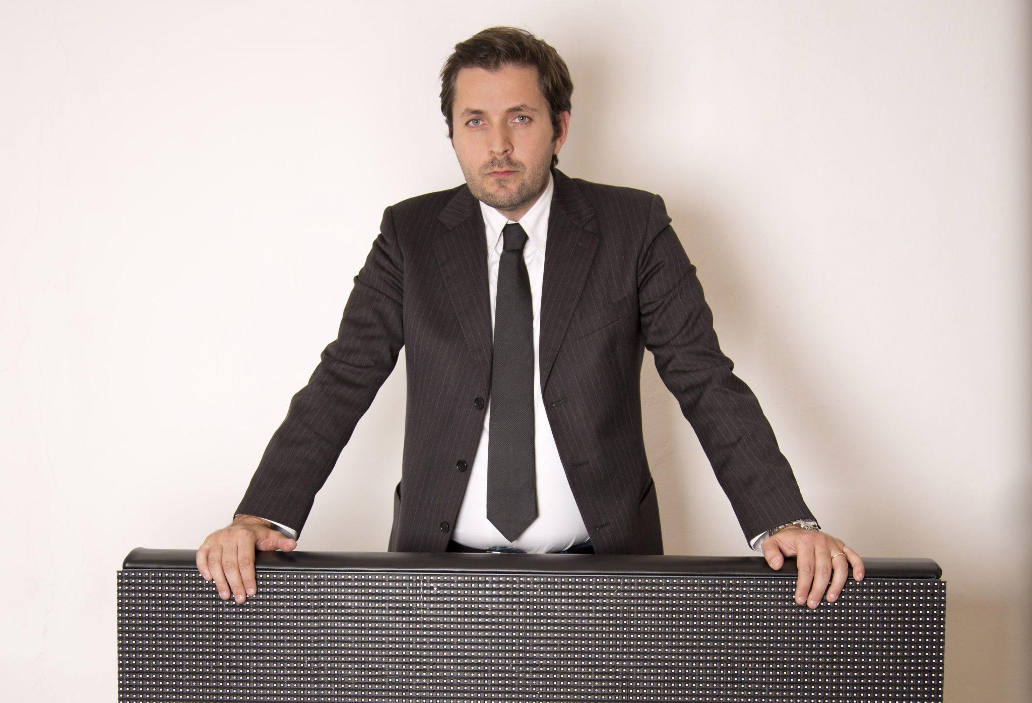 Alessio Abbateianni, owner The Mad Box