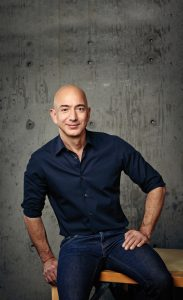 Jeff Bezos CEO di Amazon