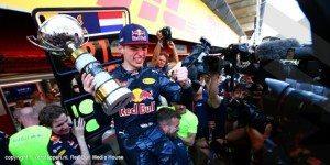 Max Verstappen, vincitore al Gran Premio, in Spagna. Foto del sito ufficiale