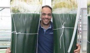 Matteo Castioni, cofondatore di Alghitaly. Foto da Facebook