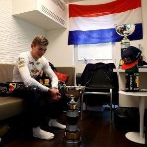Max Verstappen, vincitore in Spagna al Gp di Formula uno. Foto da Facebook