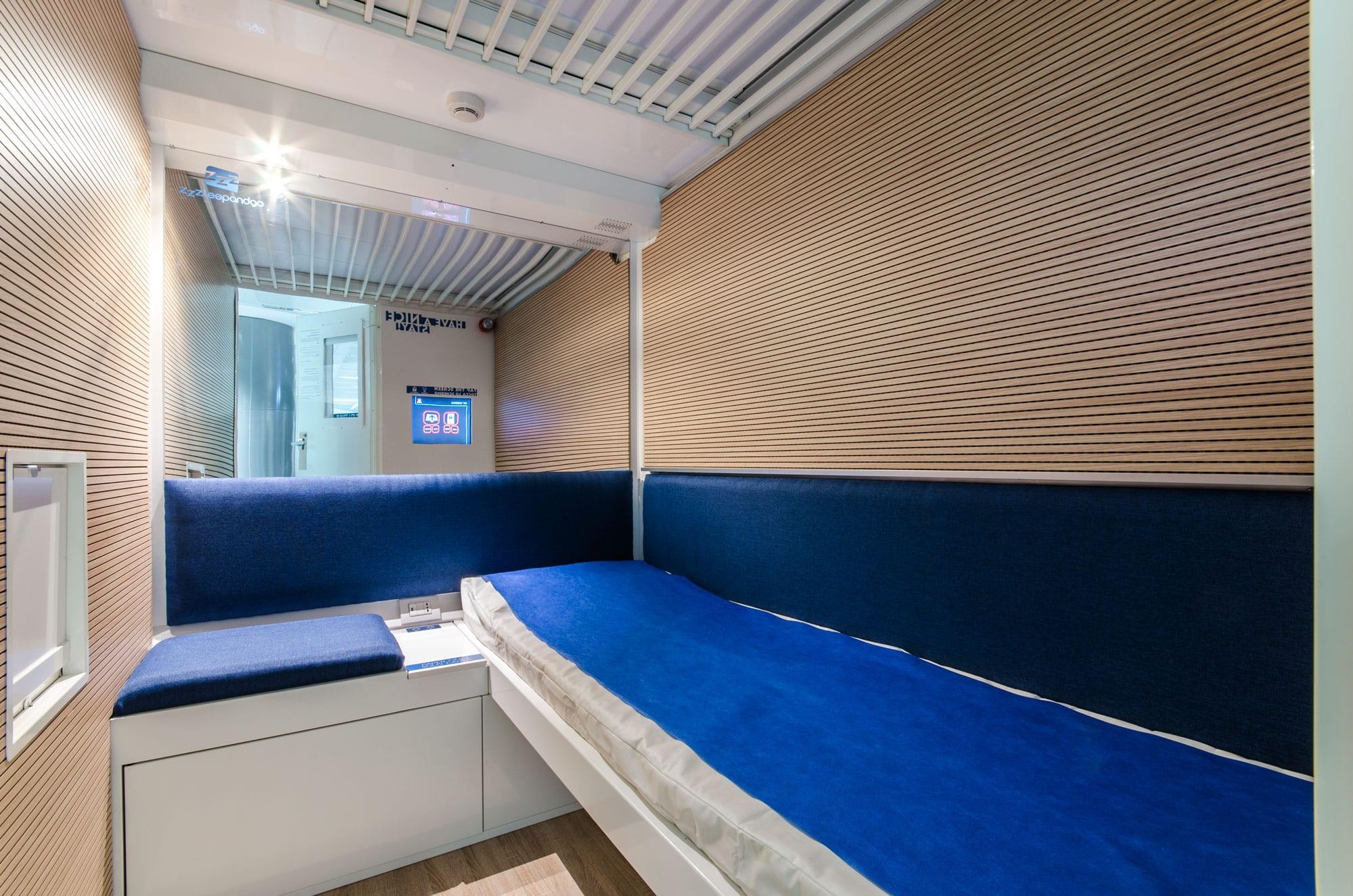 Zzzleepandgo le cabine di una startup italiana per for Primo hotel in cabina