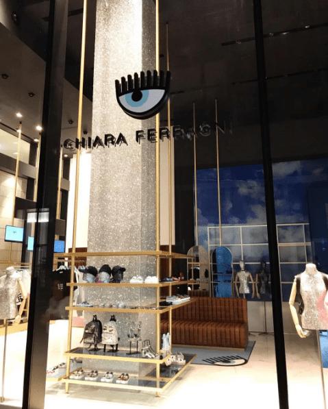 Chiara Ferragni apre a Milano il suo primo negozio
