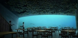 ristorante sottomarino under