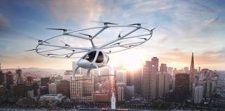 volocopter taxi volante