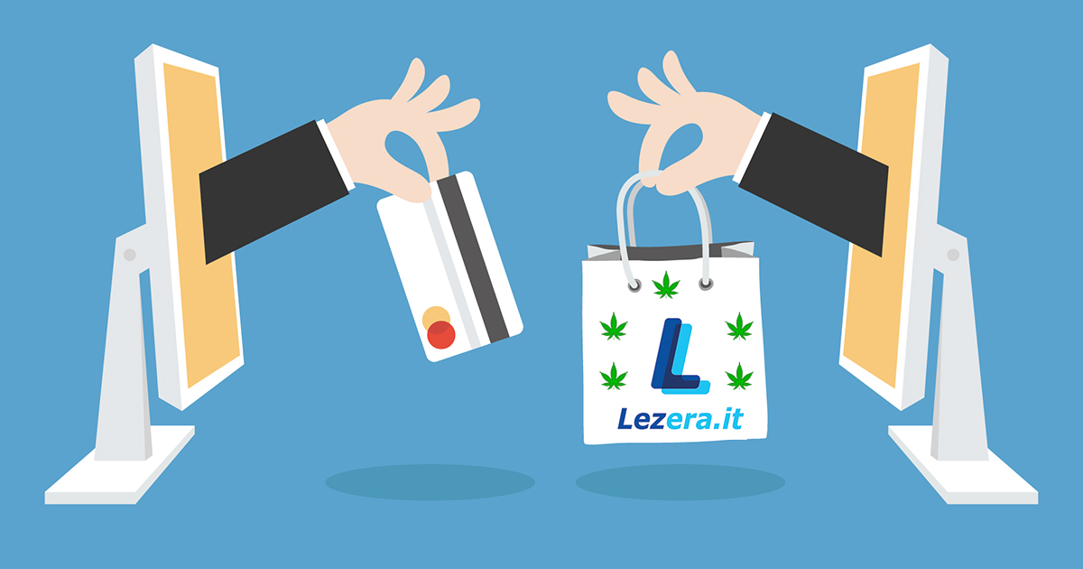 Lezera cannabis light shopping online