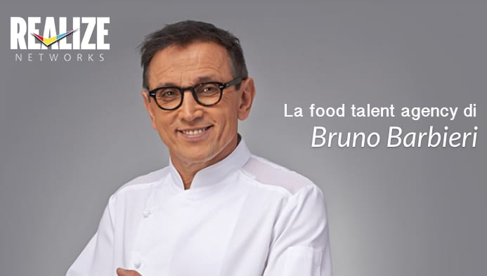 Relize Networks food talent agency di Bruno Barbieri