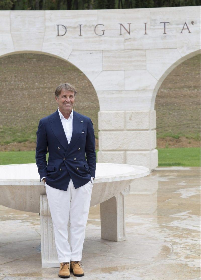 new concept 7ed2f 40b0c Brunello Cucinelli inaugura il borgo dello spirito a Solomeo