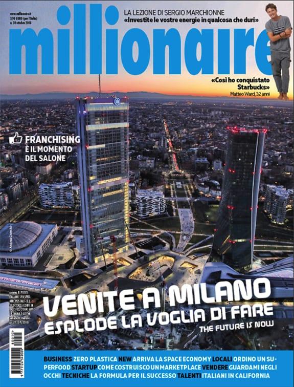 Millionaire di ottobre 2018 è in edicola