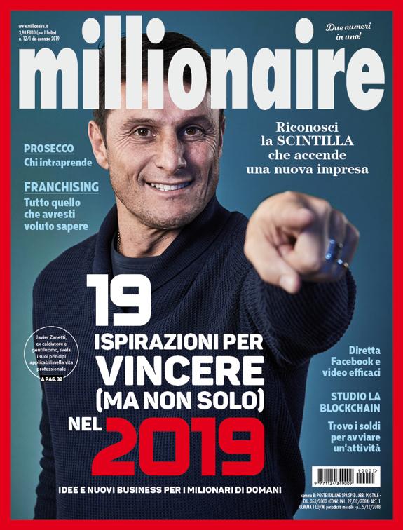 Millionaire di dicembre e gennaio 2019 è in edicola