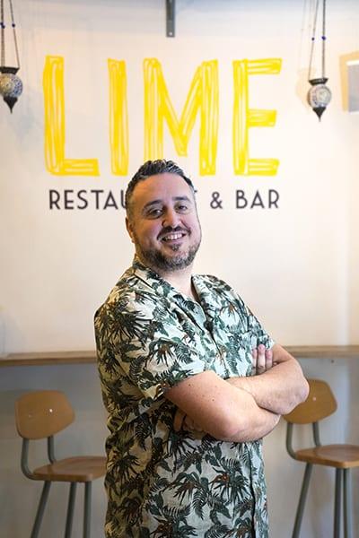 Federico Pulvino fondatore del franchising ristorazione Lime Restaurant & Bar