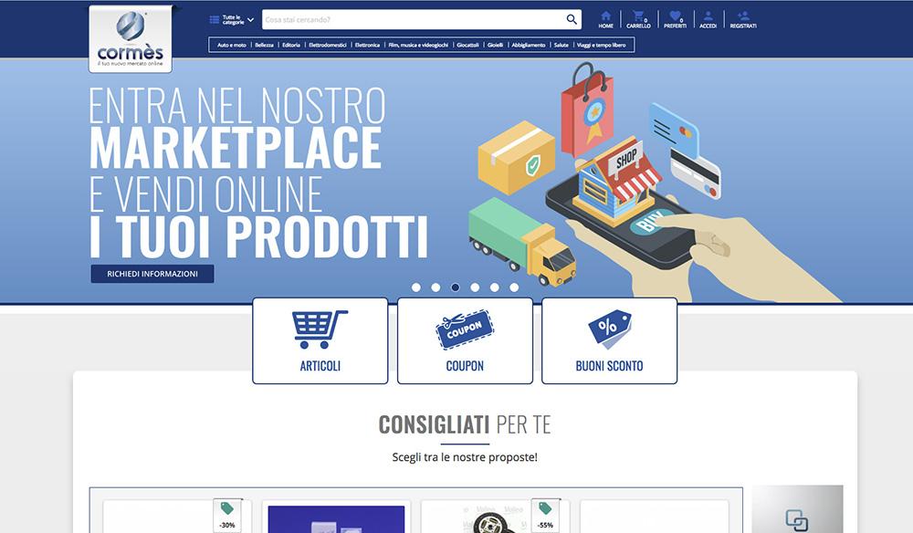 Come vendere online con la piattaforma e-commerce Cormes