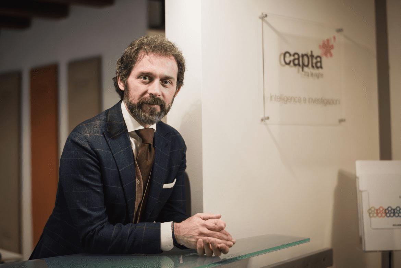 Emilio Gasparro, fondatore di Capta