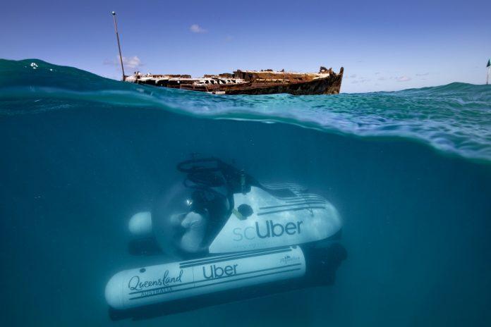 scuber sottomarino
