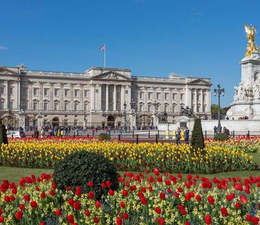 buckingam palace regina