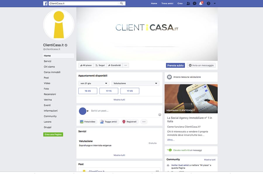 ClientiCasa.it, agenzia immobiliare