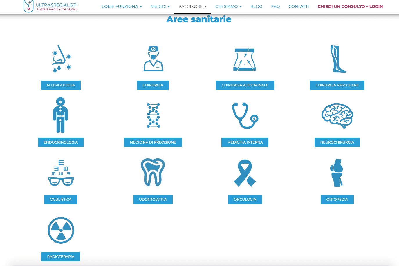 Ultraspecialisti, consulti medici online