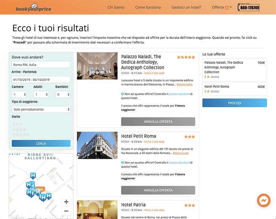 BookYourPrice - per prenotare hotel online online