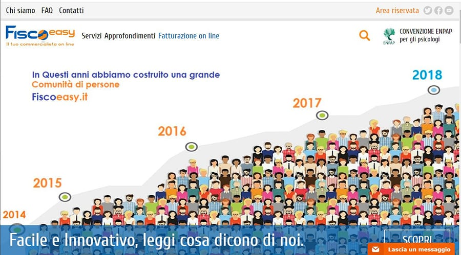 Fiscoeasy.it: il tuo commercialista online