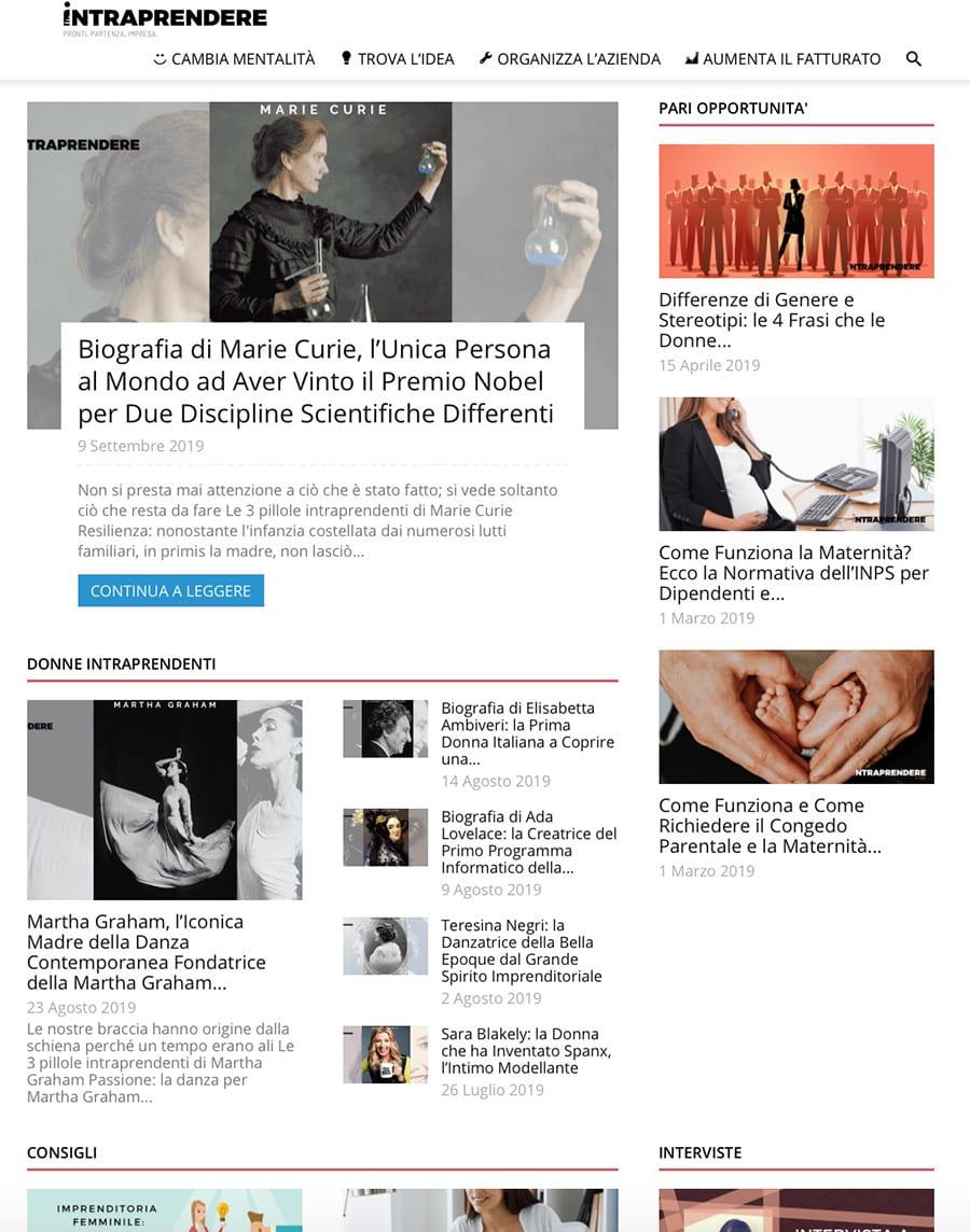 Fare business con Intraprendere.net