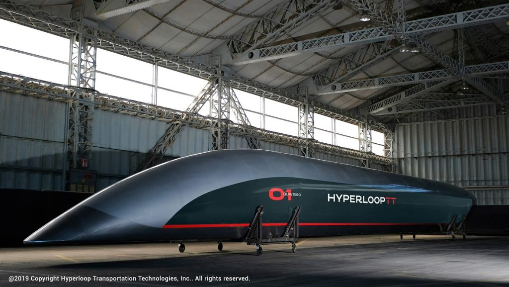 hyperloop supersonico