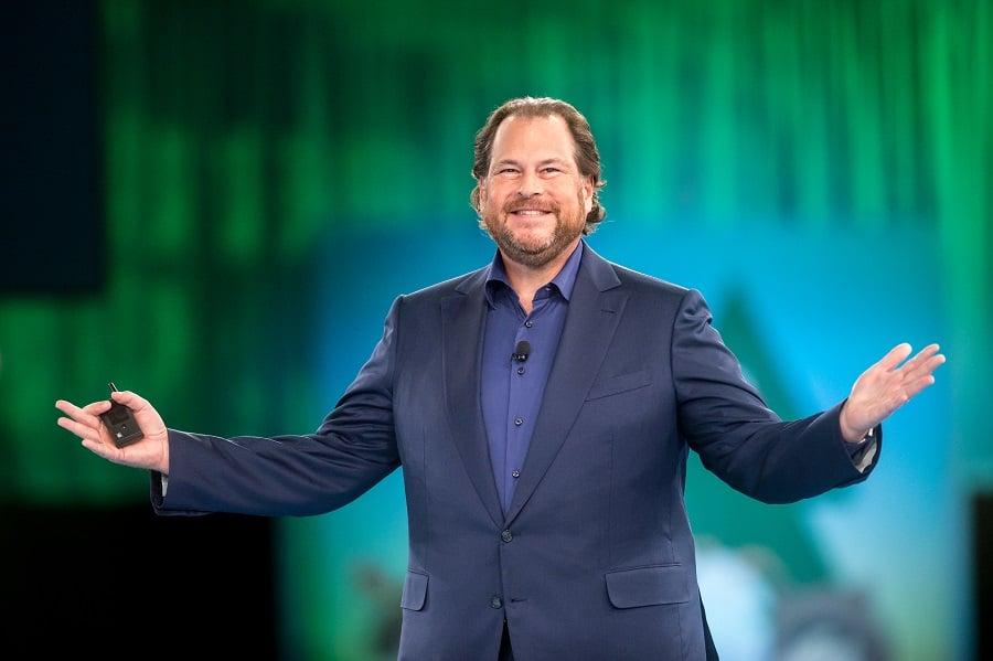 Mark Benioff Salesforce