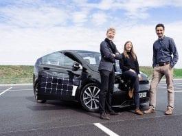 auto solare sion
