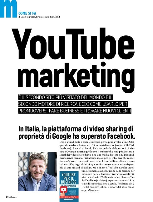 youtube marketing millionaire