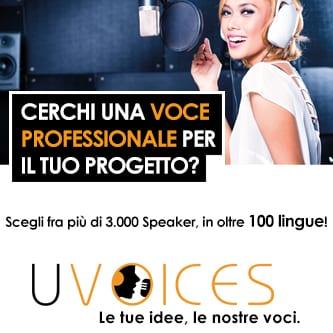 Uvoices speaker professionale