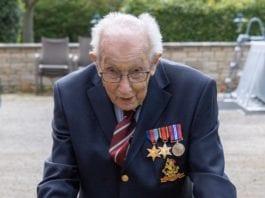 capitano moore 99 anni