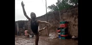 bambino danza pioggia nigeria