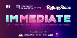 Immediate call for startup media e entertainment