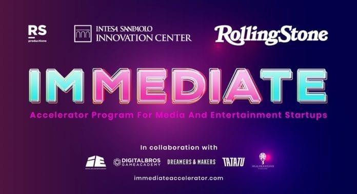 Immediate call for startup media e entertainment