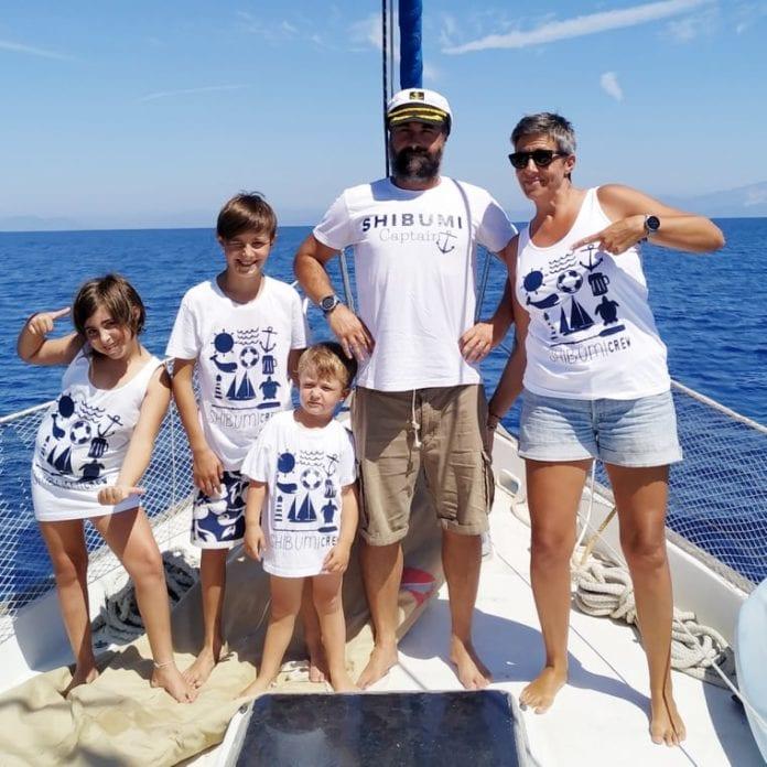 shibumi famiglia barca vela
