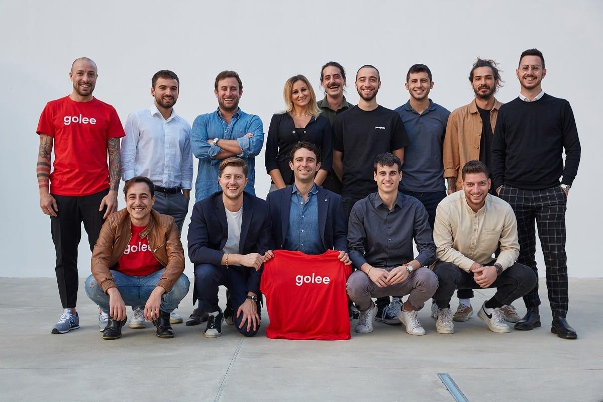 Team della startup Golee