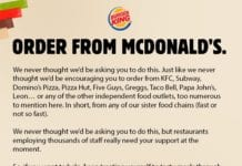 burger king mc donald