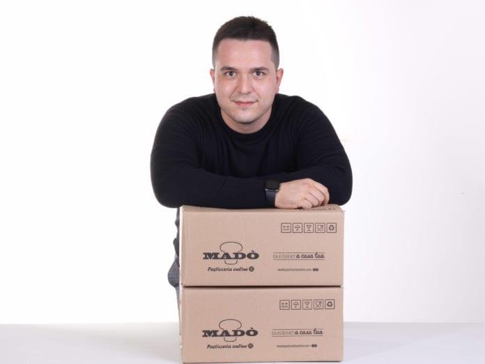 Domenico Napoletano, co-founder di Madò Pasticceria online