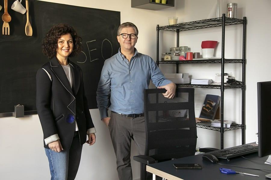 Ivan Cutolo e Antonella Apicella, fondatori di Seochef.