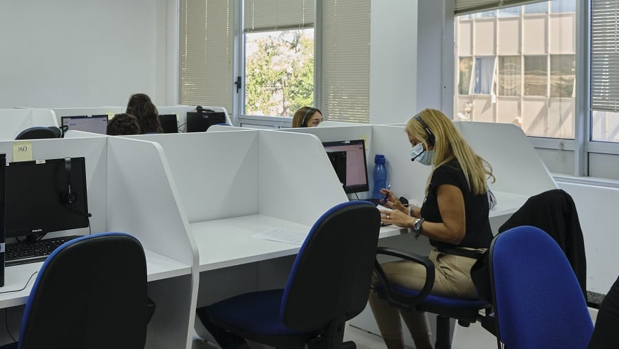 Call Business contact centre