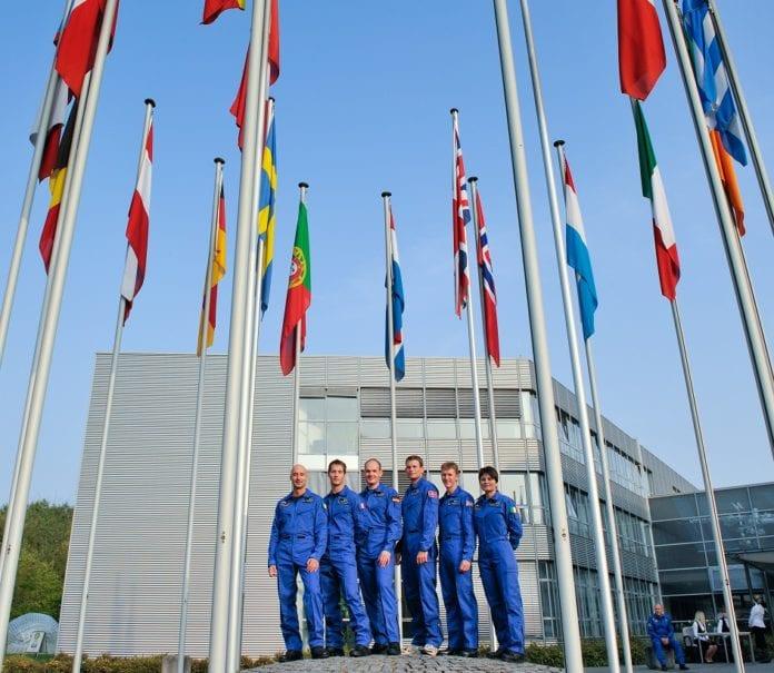 agenzia spaziale esa astronauti