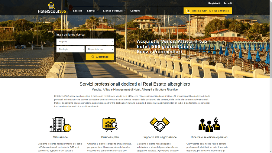 Albergatore Pro sito web
