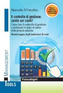 Marcello D'Onofrio nuovo libro - Il controllo di gestione: conta sui conti