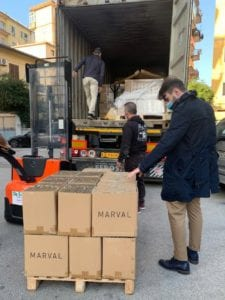 Marval Trading import export con la Cina