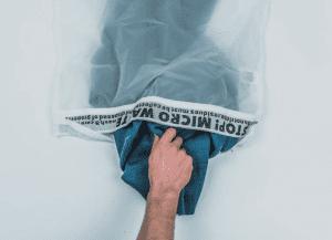 sacchetto microplastiche