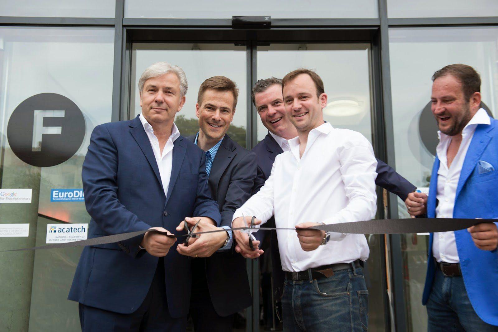 11 JUN 2014, BERLIN/GERMANY:Eroeffnung Start-up Campus Factory