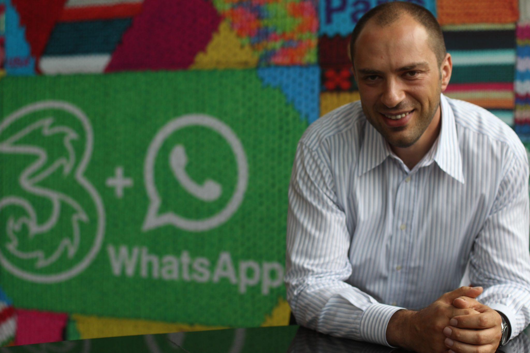 whatsapp founder net worth