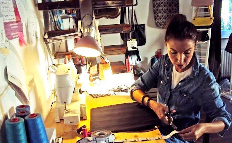 Da un hobby a un lavoro  Arianna e le sue borse scomponibili ... 9aa923cfcdb